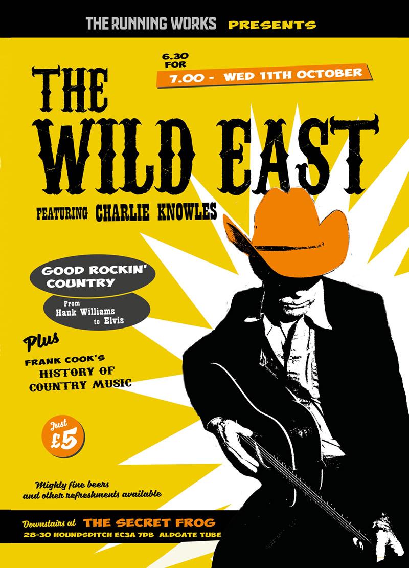 Wild East flyer